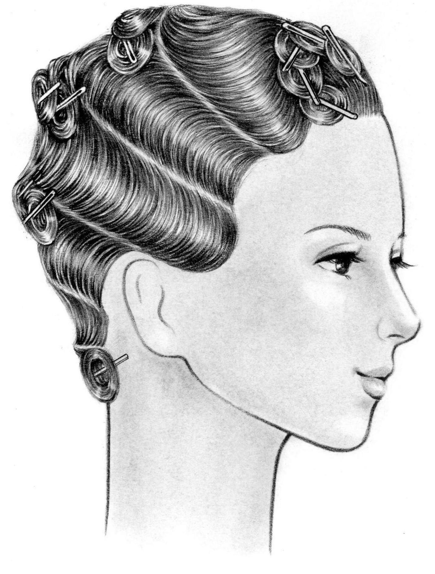 美容師国家試験,第一課題,オールウェーブ